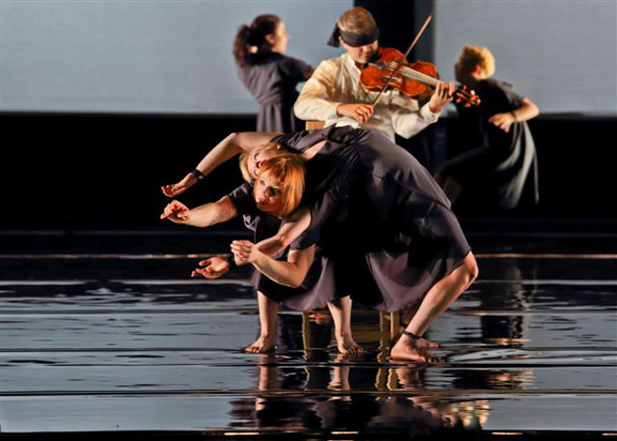 Circa & Debussy String Quartet, Opus   Photo: Michel Cavalca