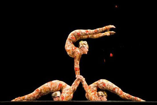 Cirque du Soleil, Kooza   Photo: Schipul