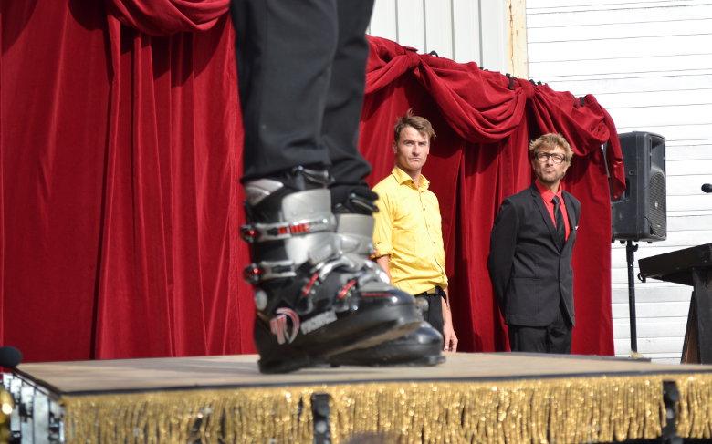 Pol & Freddy, Le Cirque Démocratique de la Belgique | Photo: Léonore Tapernoux