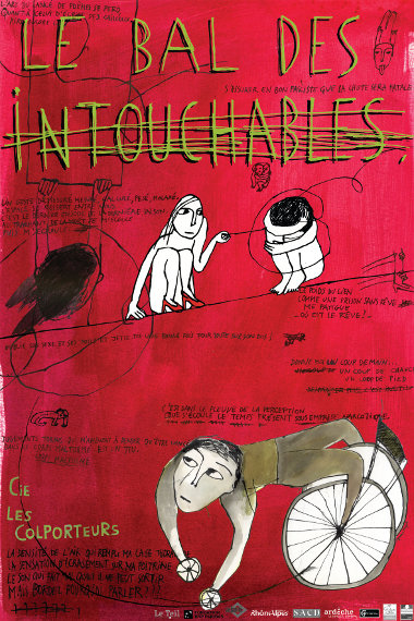 Le Bal des Intouchables | Illustrations by Anne Rigot
