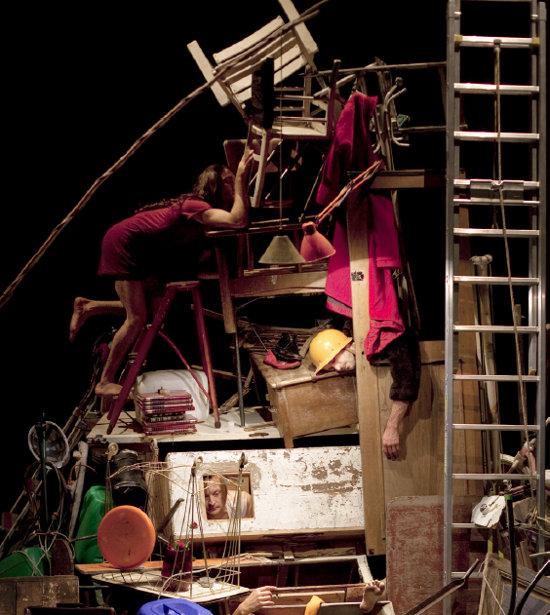 Compagnie L'Immédiat / Camille Boitel: L'Immédiat | Photo: Vincent Beaume